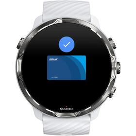 Suunto 7 Sport Watch, white burgundy